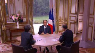 Interview du 14 juillet : François Hollande interrogé par Gilles Bouleau et David Pujadas