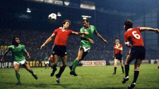 En 1977, le choc existait déjà entre Manchester United et l'AS Saint Étienne