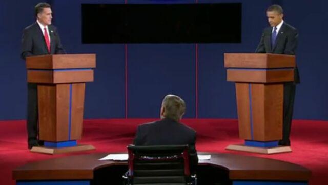 Un record pour le débat Obama/Romney