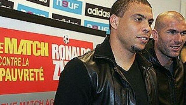 Zidane et Ronaldo sur Direct 8