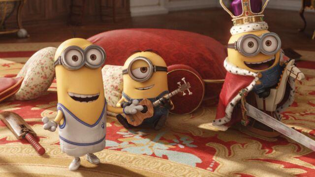La sortie ciné de la semaine : Les Minions s'attaquent aux joyaux de la couronne !