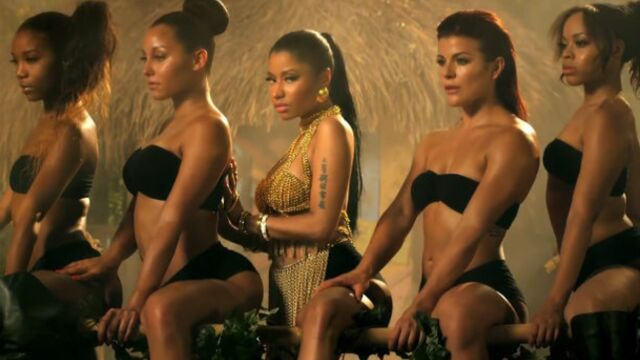Nicki Minaj : Anaconda, son clip torride (VIDEO)