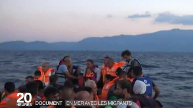 En mer avec les migrants : l'incroyable reportage de France 2 (VIDÉO)