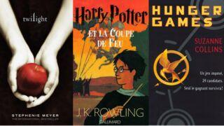 Harry Potter, Hunger Games ou Twilight : qui règne sur les ventes des sagas ados ? (INFOGRAPHIE)