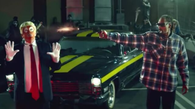 Le clip de la semaine : Snoop Dogg flingue Donald Trump dans Lavender (VIDEO)