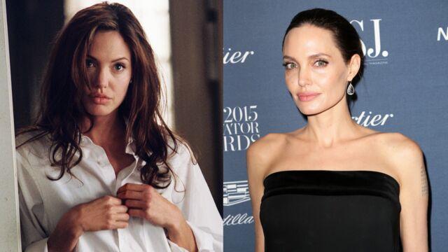 Angelina Jolie (Mr & Mrs Smith sur D8) : de plantureuse à très amaigrie, l'évolution physique de l'actrice (28 PHOTOS)