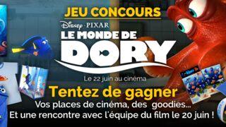 Concours - Le Monde De Dory : tentez de gagner vos places de cinéma, des goodies et une rencontre avec l'équipe du film