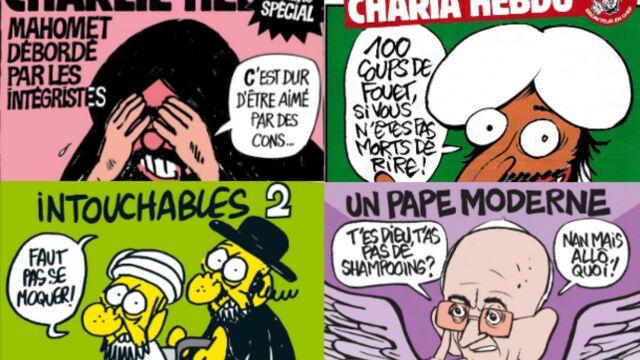 Les Unes emblématiques de Charlie Hebdo (PHOTOS)