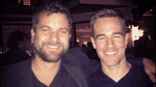 Mini-réunion entre James Van Der Beek et Joshua Jackson... Pacey et Dawson n'ont pas changé (PHOTO)