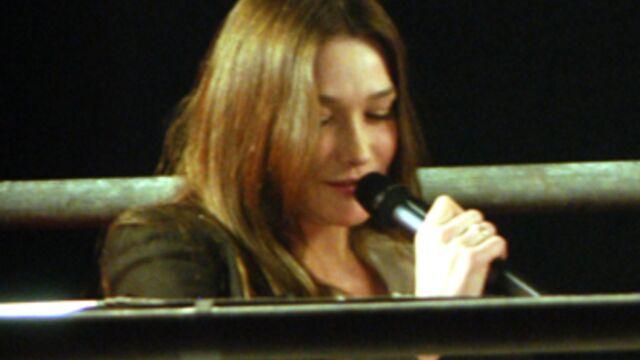 Carla Bruni continue sa tournée... télé