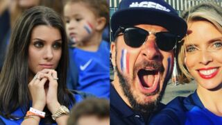 Euro 2016 : stars et femmes de joueurs à fond derrière les Bleus lors de France-Allemagne (PHOTOS)