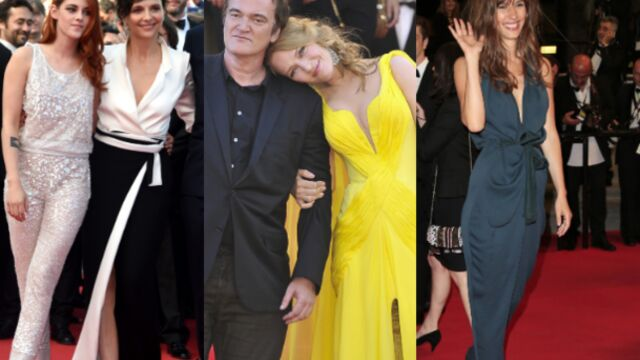 CANNES 2014 : Juliette Binoche, Kristen Stewart et Uma Thurman lumineuses (PHOTOS)