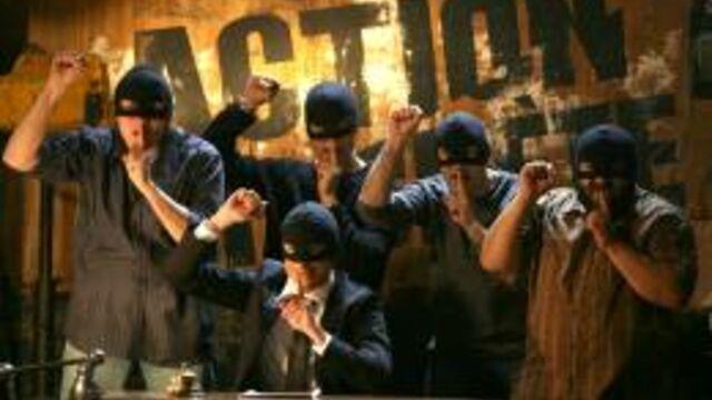 Les membres d'Action discrète ont tourné un film en caméra cachée