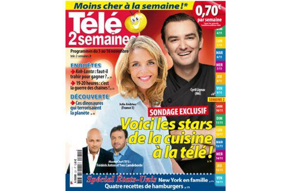 Julie Andrieu, Cyril Lignac et Masterchef : les vraies stars de la cuisine à la télé