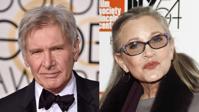 Star Wars : Carrie Fisher et Harrison Ford plus qu'intimes sur le tournage !