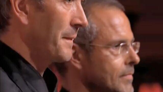 """MasterChef : Éric viré par le """"warrior"""" Christophe (VIDÉO)"""