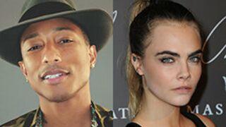 Pharrell Williams et Cara Delevingne ont tourné pour Karl Lagerfeld