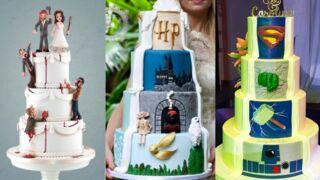 Pièce montée (France 3) : les plus beaux gâteaux de mariage inspirés du cinéma ! (24 PHOTOS)