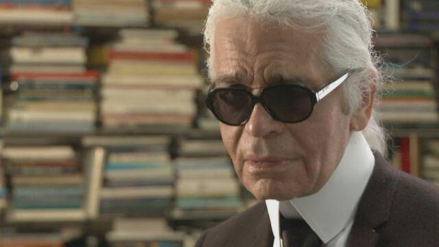Karl Lagerfeld se raconte sur Arte