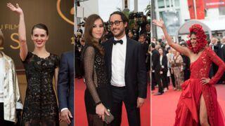 Cannes 2017 : Marine Vacth sexy, Thomas Hollande amoureux, fille en fleurs... La montée des marches de L'amant double (PHOTOS)