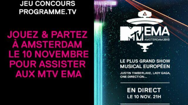 Gagnez un voyage pour participer aux MTV EMA 2013