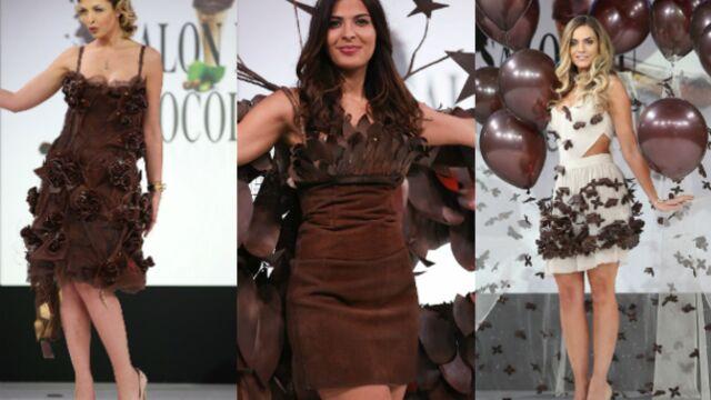 Eleonore Boccara, Clara Morgane, Gyselle Soares... Défilé de stars au Salon du chocolat (PHOTOS)