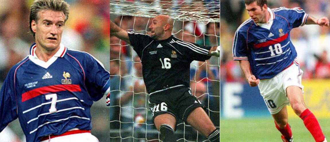 France 98 que sont devenus les champions du monde de 1998 46 photos - Joueur coupe du monde 98 ...