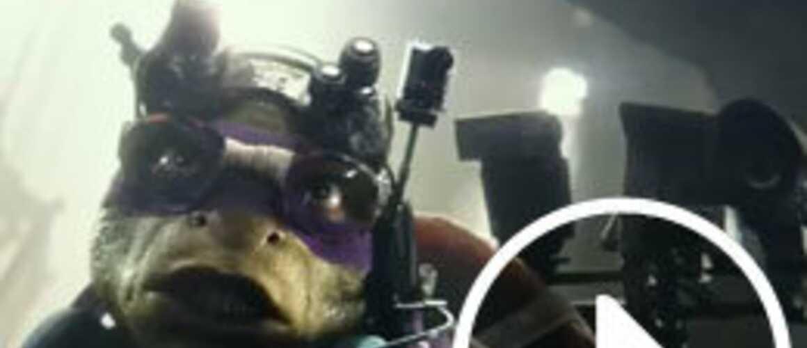 Les tortues ninja s affichent dans une nouvelle bande annonce - Mechant tortue ninja ...