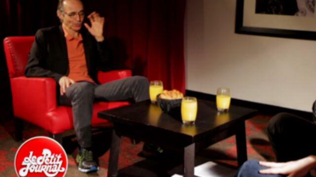 Polémique : Jean-Jacques Goldman joue la carte de l'humour au Petit Journal (VIDEO)