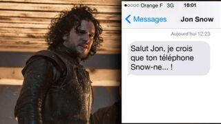 Game of Thrones : 10 textos qu'on aimerait envoyer à Jon Snow