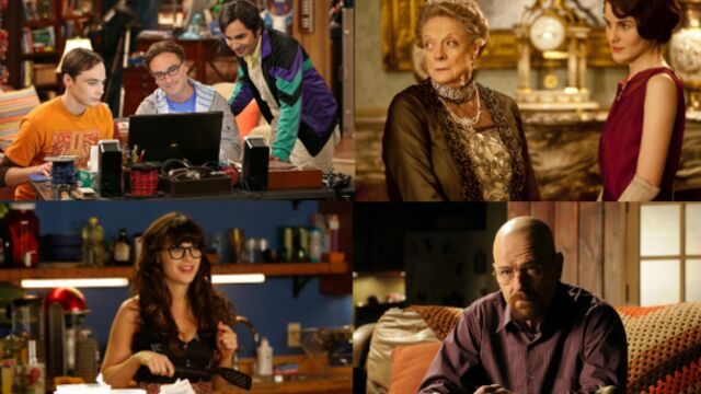 Breaking Bad, Downton Abbey et The Good Wife nommées aux Golden Globes 2014