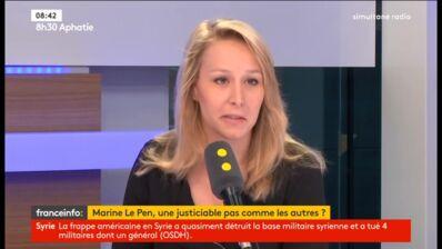 """Marion Maréchal-Le Pen se moque du """"pyjama"""" de Philippe Poutou au Grand Débat (VIDEO)"""