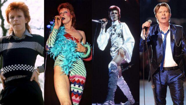 Mort de David Bowie : revivez les looks incontournables de la star (25 PHOTOS)