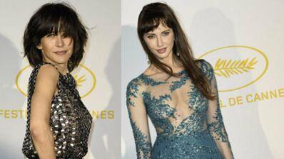 Cannes 2015 : Frédérique Bel et Sophie Marceau glamour au dîner d'ouverture
