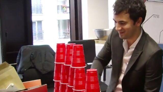 60 secondes chrono : Alex Goude va-t-il relever notre défi ? (VIDEO)