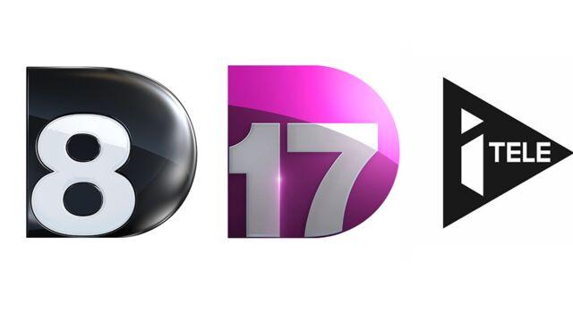 Surprise ! D8, D17 et iTELE vont être rebaptisées C8, C17 et CNews