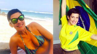 Cristina Cordula : Brésil, bikini, poses avec des stars... Son best of Instagram (PHOTOS)