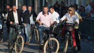 Brigitte et Emmanuel Macron pédalent grave ! (PHOTOS)