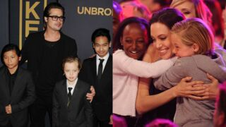 Divorce de Brad Pitt et Angelina Jolie : que vont devenir leurs six enfants ? (PHOTOS)