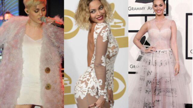 Défilé très glamour sur le tapis rouge des Grammy Awards 2014 (PHOTOS)