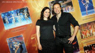 Nathalie Péchalat resplendissante aux côtés de Philippe Candeloro