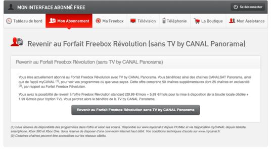 Freebox Revolution Comment Se Desabonner De L Offre Canalsat