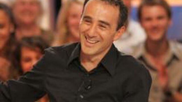 Elie Semoun en tournage pour TF1