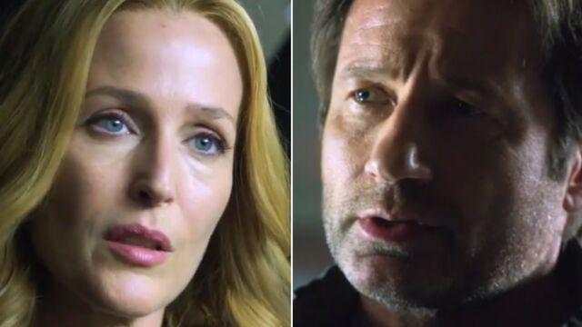 X-Files : les retrouvailles entre Mulder et Scully (VIDÉO)