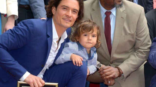 Orlando Bloom et son fils, complices sur Hollywood Boulevard