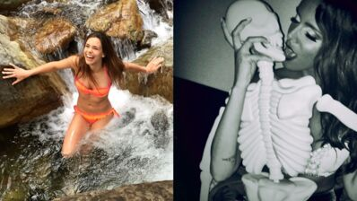 Instagram : Marine Lorphelin se jette à l'eau, Shy'm et son étrange compagnon (31 PHOTOS)