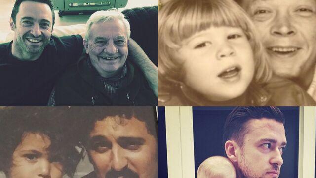 Fête des pères : les people rendent hommage à leur papa sur Instagram (PHOTOS)