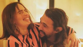 Game of Thrones : Emilia Clarke retrouve son Khal Drogo à la Fashion Week ! (PHOTOS)