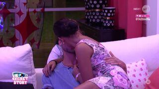 Secret Story 10 : premier baiser entre Sophia et Bastien !