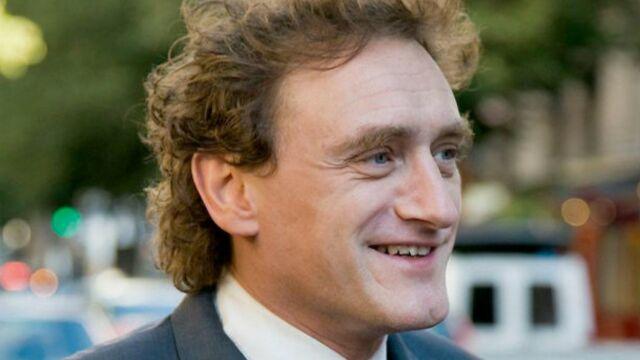 Jean-Paul Rouve en tournage pour TF1